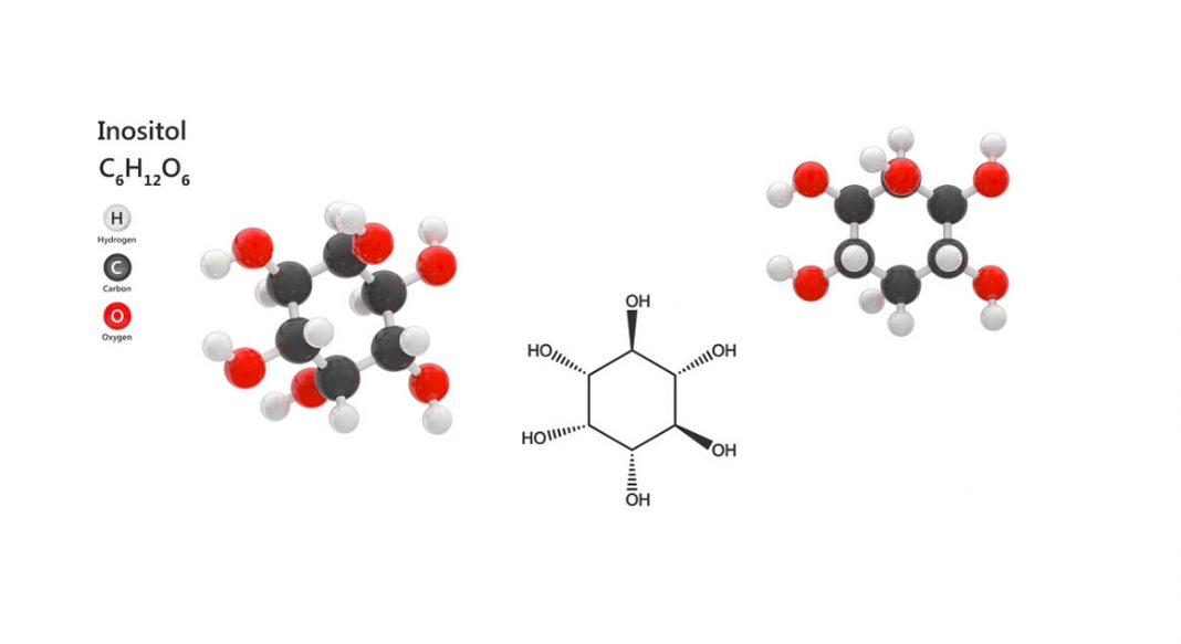 Inositol kimyasal yapısı