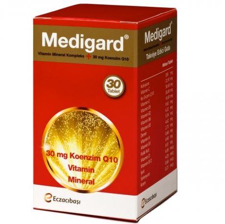 Medigard Vitamin Mineral Kompleks CoQ10 İnceleme